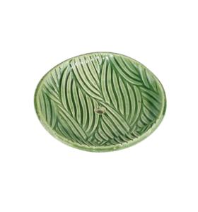 """Zöld színű szappantartó """"Hullám"""""""