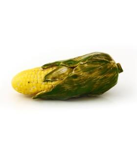 Kukorica, sárga, zöld levelek, törött levél, zöld, díszek