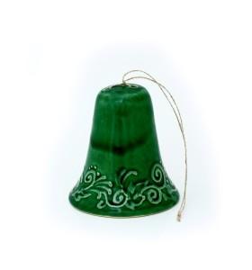 Harang, nagy, zöld, népi motívum színes