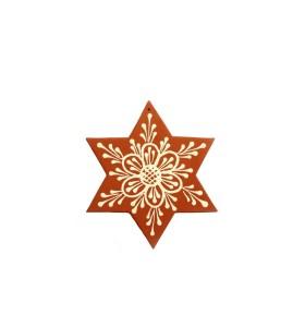 Nagy csillag, barna