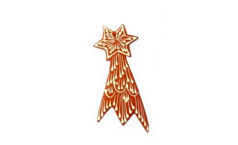Hullócsillag (Comet), kicsi, barna