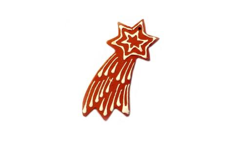 Hullócsillag (Comet), nagy, barna