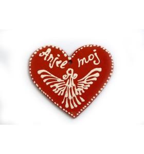 Medál, szív, Angyalom