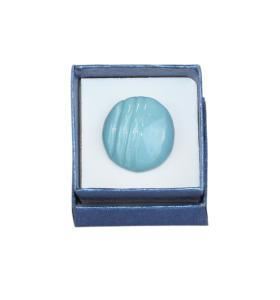 Halványkék csíkos kerámiagyűrű
