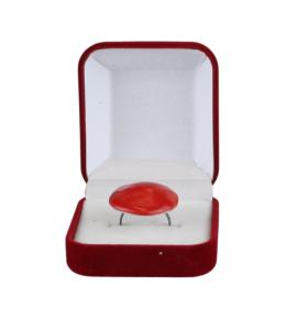 Piros kerámiagyűrű