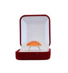 Narancssárga kerámiagyűrű