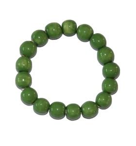 Karkötő, zöld színben