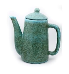 Teáskancsó, henger, szürkés világos kék