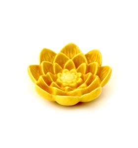 Szappantartó, lótuszvirág, sárga