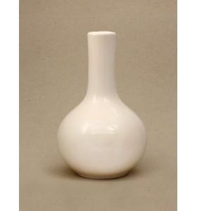 Váza, orchidea, kicsi, fehér, egyszínű