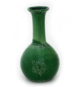 Nagy váza virág mintás